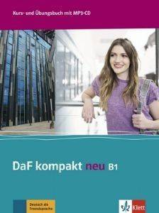 DAF KOMPAKT NEU B1 KURSBUCH - ARBEITSBUCH (+ CD AUDIO MP3) βιβλία εκμαθηση ξενων γλωσσων γερμανικα