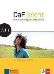 DAF LEICHT A1.1 KURSBUCH - ARBEITSBUCH (+ DVD-ROM) βιβλία εκμαθηση ξενων γλωσσων γερμανικα