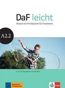 DAF LEICHT A2.2 KURSBUCH - ARBEITSBUCH (+ DVD-ROM) βιβλία εκμαθηση ξενων γλωσσων γερμανικα