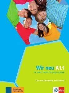 WIR NEU A1.1 KURSBUCH - ARBEITSBUCH (+ CD) βιβλία εκμαθηση ξενων γλωσσων γερμανικα