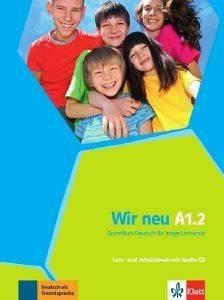 WIR NEU A1.2 KURSBUCH - ARBEITSBUCH (+ CD) βιβλία εκμαθηση ξενων γλωσσων γερμανικα