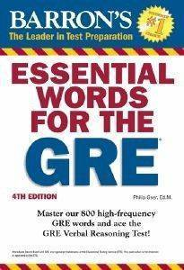 BARRONS ESSENTIAL WORDS FOR THE GRE 4TH ED