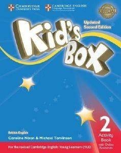 KIDS BOX 2 WORKBOOK (+ ONLINE RESOURCES) UPDATED 2ND ED