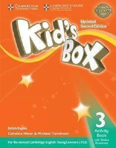 KIDS BOX 3 WORKBOOK (+ ONLINE RESOURCES) UPDATED 2ND ED