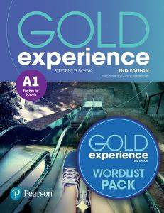 GOLD EXPERIENCE A1 STUDENTS BOOK 2ND ED