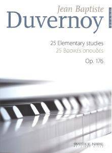 DUVERNOY 25 ELEMENTARY STUDIES OP. 176 PIANO