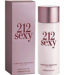 ΛΟΣΙΟΝ ΣΩΜΑΤΟΣ CAROLINA HERRERA, 212 SEXY WOMAN 200ML