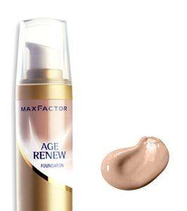 MAKE-UP MAX FACTOR, AGE RENEW FOUNDATION NO 60 SAND
