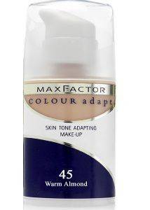 MAKE-UP MAX FACTOR, COLOUR ADAPT NO 45 WARM ALMOND
