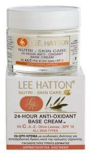 ΕΝΥΔΑΤΙΚΗ ΚΡΕΜΑ LEE HATTON, 24-HOUR ANTI-OXIDANT 50ML
