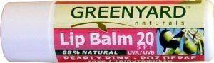 LIP BALM 20SFP PEARLY PINK BY GREENYARD (4.7 GR)