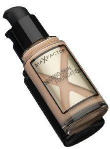 MAKE-UP MAX FACTOR, SECOND SKIN FOUNDATION