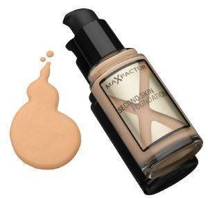 MAKE-UP MAX FACTOR, SECOND SKIN FOUNDATION NO 080 BRONZE 30ML