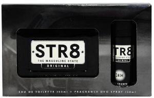 ΣΕΤ STR8 ORIGINAL, AFTER SHAVE 100ML+ ΑΠΟΣΜΗΤΙΚΟ 150ML καλλυντικά  amp  αρώματα δωρα σετ για τον ανδρα