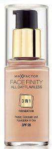 MAKE-UP MAX FACTOR FACE FINITY ALL DAY FLAWLESS 3 IN 1 FOUNDATION