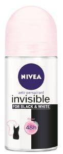 ΑΠΟΣΜΗΤΙΚΟ ROLL-ON NIVEA DEO BLACK & WHITE CLEAR INVISIBLE ΓΥΝΑΙΚΕΙΟ 50ML