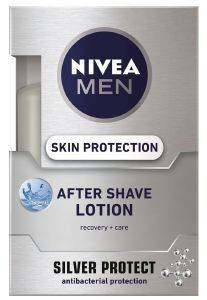 AFTER SHAVE  NIVEA  MEN LOTION SILVER PROTECT 100ML