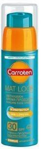 ΑΝΤΙΗΛΙΑΚΟ ΠΡΟΣΩΠΟΥ CARROTEN MAT LOOK OILY/COMB SPF30 50ML καλλυντικά  amp  αρώματα αντιηλιακα προσωπου spf30