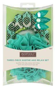ΣΦΟΥΓΓΑΡΙ  ΣΩΜΑΤΟΣ ECOTOOLS THREE-PIECE SOOTHE AND RELAX