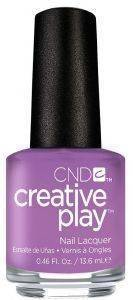 ΒΕΡΝΙΚΙ ΝΥΧΙΩΝ CND  CREATIVE PLAY 13.6ML  A LILAC-Y STORY 443  ΜΩΒ