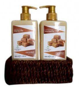 ΣΕΤ ΣΩΜΑΤΟΣ NATURAL CARE BATH SET CARAMEL'S ESSENCE (2TMX)