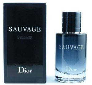 EAU DE TOILETTE CHRISTIAN DIOR SAUVAGE  60ML