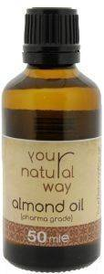 SWEET ALMOND OIL YOUR NATURAL WAY ΑΜΥΓΔΑΛΕΛΑΙΟ 50ML