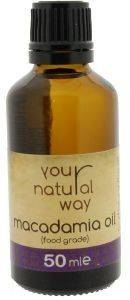 MACADAMIA NUT OIL YOUR NATURAL WAY  MAKANTEMIA 50ML