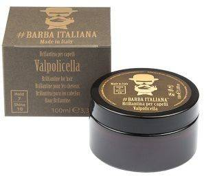 VALPOLICELA POMADE BRILLIANINE HAIR STYLING BARBA ITALIANA  100ML