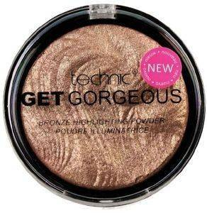 TECHNIC GET GORGEOUS BRONZING HIGHLIGHTING POWDER ΜΠΡΟΝΖΕ 12GR