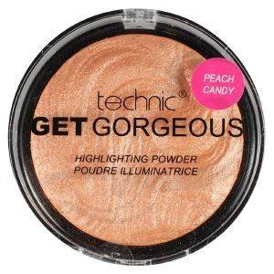 TECHNIC GET GORGEOUS POWDER HIGHLIGHTING PEACH CANDY 12GR