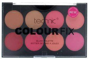 ΠΑΛΕΤΑ ΡΟΥΖ TECHNIC COLOUR FIX BLUSH PALETTE 28GR