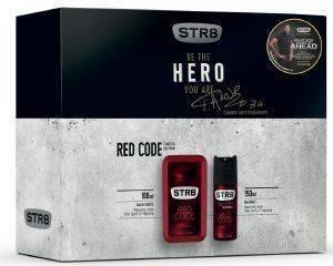 ΣΕΤ STR8 RED CODE LIMITED EDITION GIANNIS ANTETOKOUNMPO EDT 100ML+ DEO 150ML καλλυντικά  amp  αρώματα δωρα σετ για τον ανδρα