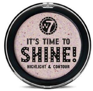 HIGHLIGHT -CONTOUR W7 IT'S TIME TO SHINE