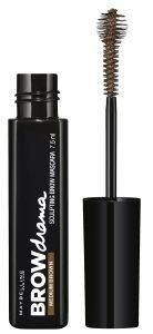 ΜΑΣΚΑΡΑ ΦΡΥΔΙΩΝ MAYBELLINE BROW DRAMA SCULPTING BROW MASCARA MEDIUM BROWN (7.6ML