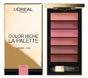ΠΑΛΕΤΑ ΧΕΙΛΙΩΝ L'OREAL COLOR RICHE LA PALETTE LIPS NUDE
