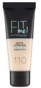 MAKE UP MAYBELLINE FIT ME MATTE PORCELAIN 110