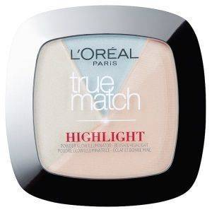 HIGHLIGHTER L'OREAL TRUE MATCH POWDER GLOW ILLUMINATOR 302 ICY GLOW (9GR)