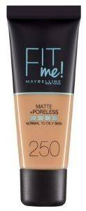 MAKE UP MAYBELLINE FIT ME MATTE 250 SUN BEIGE 30ML
