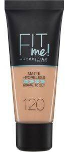 MAKE UP MAYBELLINE FIT ME MATTE 120  CLASSIC IVORY  30ML