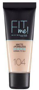 MAKE UP MAYBELLINE FIT ME MATTE 104 SOFT IVORY  30ML
