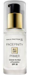 MAX FACTOR FACEFINITY ALL DAY PRIMER 30ML
