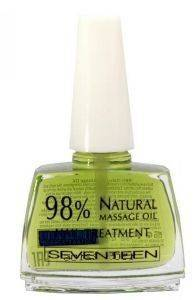 ΘΕΡΑΠΕΙΑ SEVENTEEN 98 % NATURAL MASSAGE OIL NAIL TREATMENT 12ML