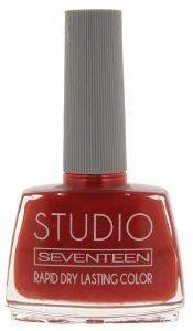 ΜΑΝΟ SEVENTEEN STUDIO RAPID DRY LASTING COLOR NO 17 ΚΟΡΑΛΙ 12ML