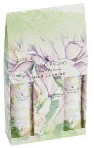 ΣΕΤ ΔΩΡΟΥ ΠΕΡΙΠΟΙΗΣΗΣ ΣΩΜΑΤΟΣ PRIMO BAGNO WILD JASMINE SH. GEL 150ML + B. SPRAY  καλλυντικά  amp  αρώματα δωρα σετ για τη γυναικα