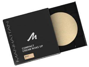 MAKE UP COMPACT MANHATTAN  CREME FOUNDATION