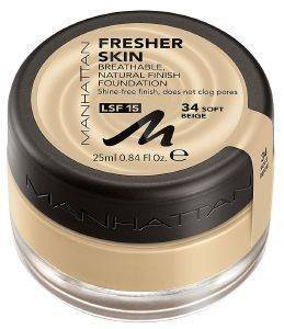 MAKE UP  MANHATTAN FRESHER SKIN FOUNDATION 25ML