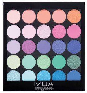 ΠΑΛΕΤΑ ΣΚΙΩΝ MUA TROPICAL OCEANA EYESHADOW PALETTE 17G
