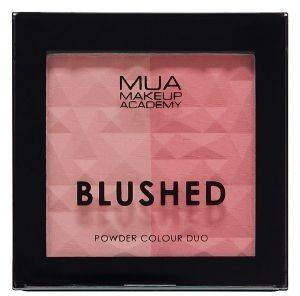 ΡΟΥΖ MUA BLUSHED DUO PEACHY ΡΟΖ