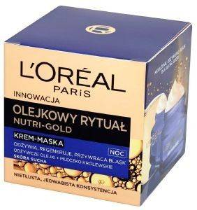 NUTRI GOLD L'OREAL NIGHT CREAM MASK 50ML